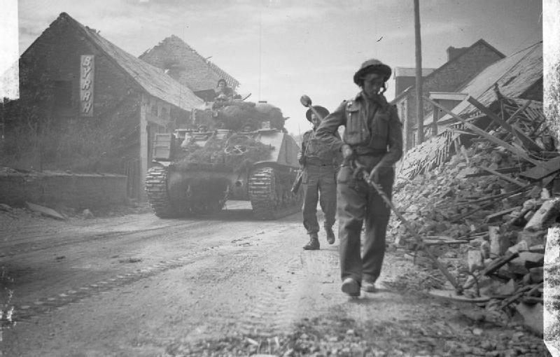Normandy-_British_and_Canadians_Push_on_B8946
