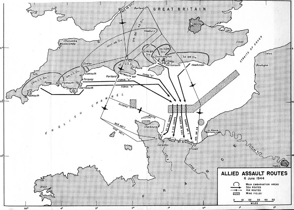 6 airborne map