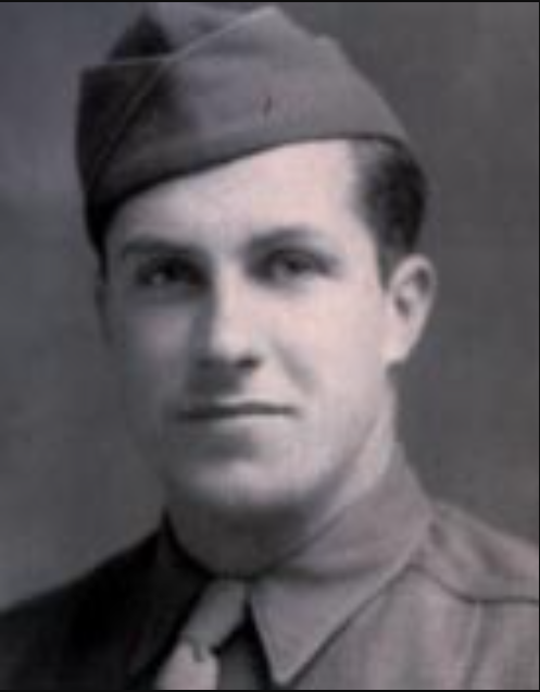 Joseph A. Toth, one of the E Company soldiers interviewed for this report. (Photo courtesy Edward Boink and the Toth family. The photo was taken in England, before D-Day, when Toth was a staff sergeant.