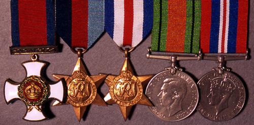 Col. Maurice's medals (Shropshire Regimental Museum)