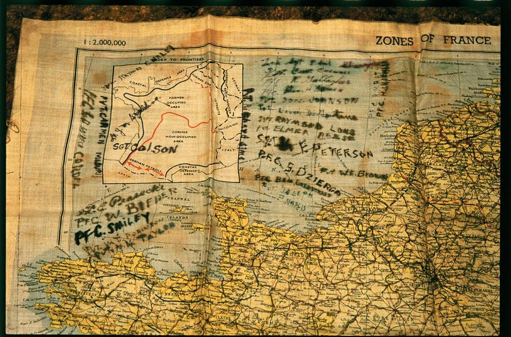 LT Spalding map